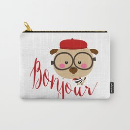 Dog Bonjour Carry-All Pouch