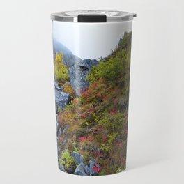 Independence Mine Waterfall Travel Mug