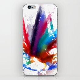 Dancing Peacock  iPhone Skin