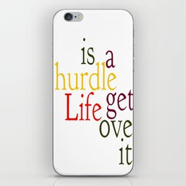 Hurdle 2 iPhone Skin