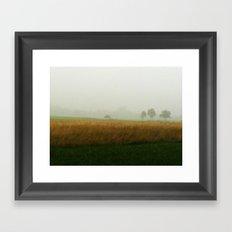 Brumes Framed Art Print