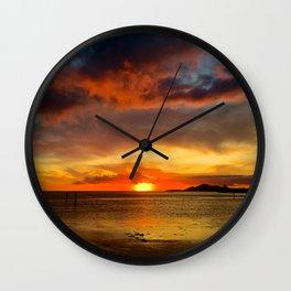 Hawaii Sunset Wall Clock