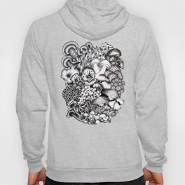 Midnight Mushrooms Hoody