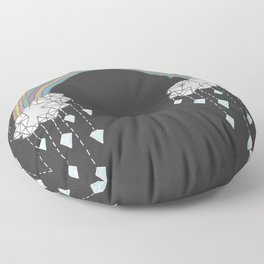 Diamond Tears Floor Pillow