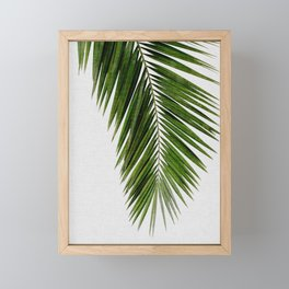 Palm Leaf I Framed Mini Art Print
