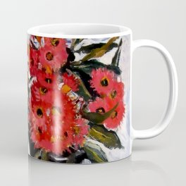 """""""Still Life With Eucalyptus and Apples"""" by Margaret Preston Coffee Mug"""