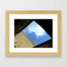 A Dungeon in Florence, Italy Framed Art Print