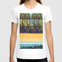 pool T-shirts featuring Tropical Pool by Abstract Designs