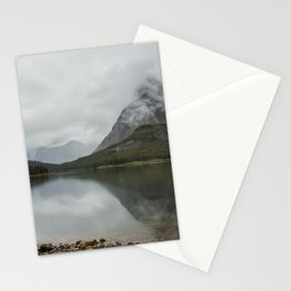 Reflection of Mountains - Glacier NP Stationery Cards