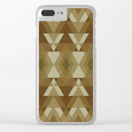 Elements - Earth Clear iPhone Case