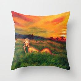 Savanna Throw Pillow