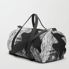 A stranger in Paris bw Duffle Bag