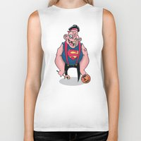 sloth Biker Tanks featuring Sloth by Artistic Dyslexia