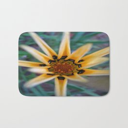 abstract flower Bath Mat