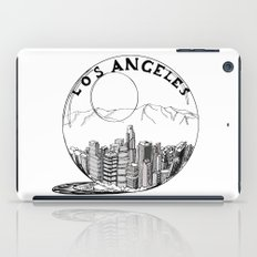 Los Angeles in a glass ball iPad Case