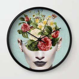 beautiful garden Wall Clock