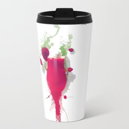 Sorbet fraises chantilly painting colors fashion Jacob's Paris Travel Mug