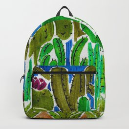 Cactus and Succulents Backpack