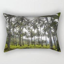 Buko (Coconut) Trees Rectangular Pillow