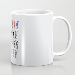 Transformers Alphabet Coffee Mug