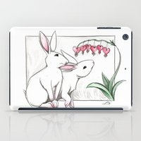 rabbits iPad Cases featuring Rabbits by LyndaParker