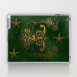 Hunter and Gold Celtic Laptop & iPad Skin