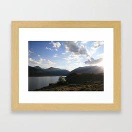 Sunbeam Lake Framed Art Print