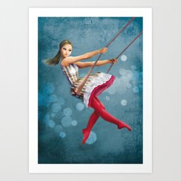 Circus Dream n.2 Art Print
