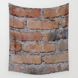 Aged Brick Wall rustic decor Wall Tapestry