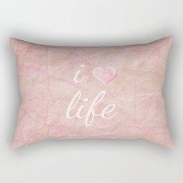 I HEART LIFE Rectangular Pillow