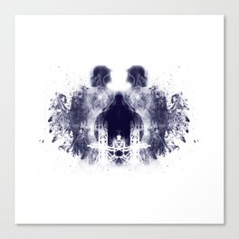 Rorschach Series - The Tower Canvas Print