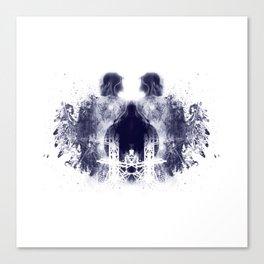Rorschach Series - The Tower Canvas Print