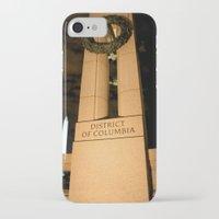 washington dc iPhone & iPod Cases featuring Washington DC by GregoryBurgess Photography