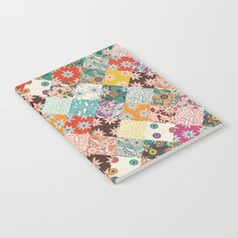 sarilmak patchwork Notebook