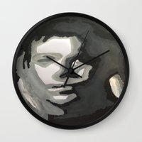 captain swan Wall Clocks featuring Captain! by Taylor Perren