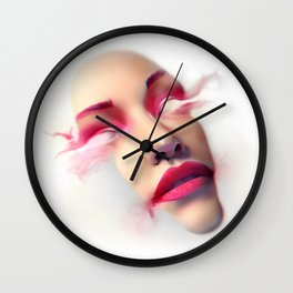 Face melt Wall Clock