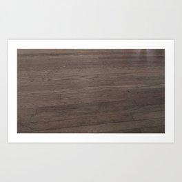 Dance Floor Wood Art Print