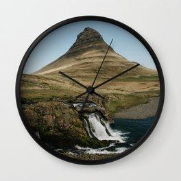 KIRKJUFELL II Wall Clock