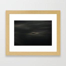 Gloomy Sky 0013 Framed Art Print