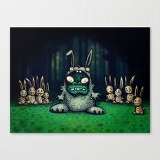 faux lapin Canvas Print