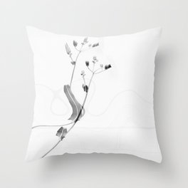 Colorblind nature Throw Pillow