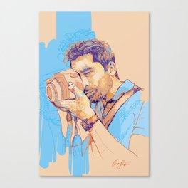 Digital Drawing #25 Canvas Print