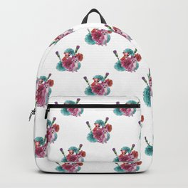 chihuahuas and carnations Backpack