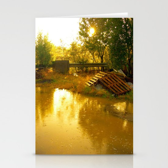 Let it rain... Stationery Cards