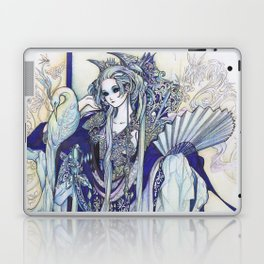 Madame Blue Laptop & iPad Skin