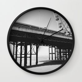 Blackpool Pier and big Wheel Wall Clock