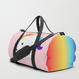 Kawaii rainbow fattycorn Duffle Bag