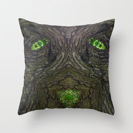 Darkwood Watches Throw Pillow