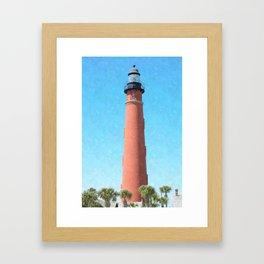 Ponce Inlet Lighthouse Framed Art Print