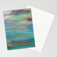 Abstract Painting 4 Stationery Cards